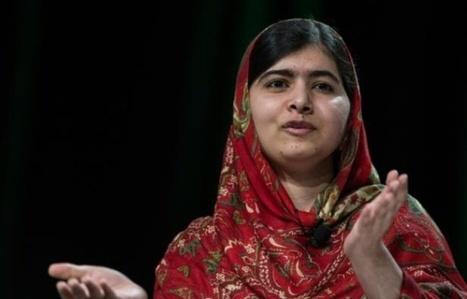 Malala fête ses 18 ans avec de jeunes réfugiées syriennes | The Blog's Revue by OlivierSC | Scoop.it