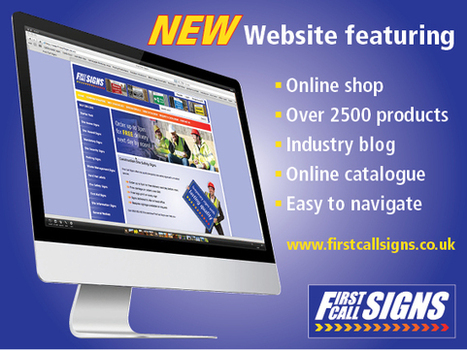 First Call Signs - Construction Safety Signs Now Available to Buy On-Line | Safety Signs | Scoop.it