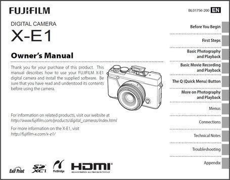 Fujifilm X-E1 is available for download | Fujifilm X-E1 | Scoop.it