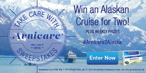Take Care with Arnicare Sweepstakes | itsyourbiz - Travel - Enjoy Life! | Scoop.it