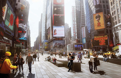 Plug-In Plaza | The Infrastructure of the Times Square Makeover | green streets | Scoop.it