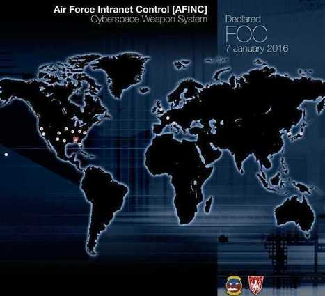 US Air Force Says First Cyberspace Weapon System Fully Operational | at DefenceTalk | Information wars | Scoop.it
