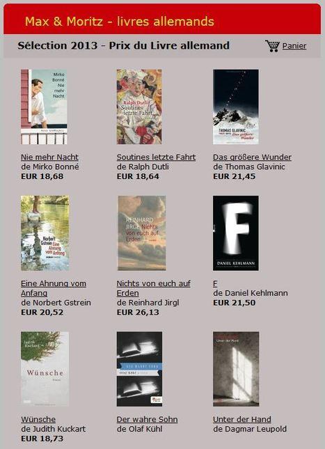 Prix du Livre allemand 2013 | Deutsche Kultur-Culture allemande | Scoop.it