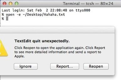 Obscure OS X Mountain Lion bug makes many apps crash | From the Apple Orchard | Scoop.it