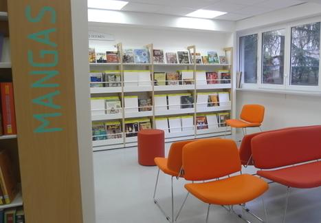 Réouverture de la bibliothèque Glacière - Marina Tsvetaïeva | architecture & design en bibliotheques | Scoop.it