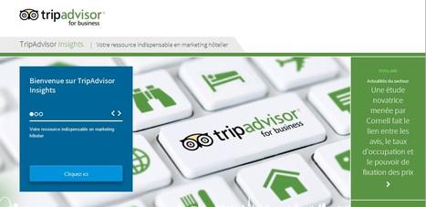 TripAdvisor Insights : Nouvelle plateforme d'aide au web marketing pour hôteliers | e-tourisme & voyage(s) sur mesure(s) | Scoop.it