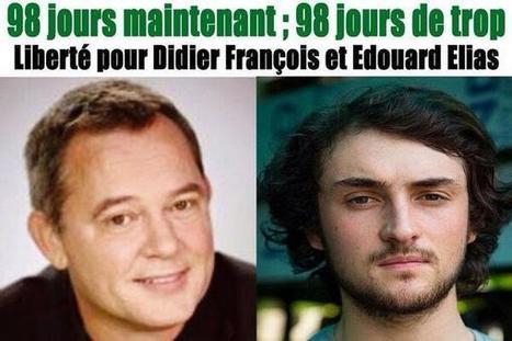Twitter / dombouissou: 98ème jour de trop sans ... | Droits de l'Homme et Compagnie | Scoop.it