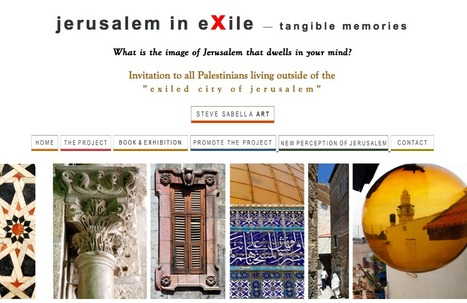 Jerusalem in Exile. Steve Sabella & the Colonization of the Imagination | Literary exiles | Scoop.it