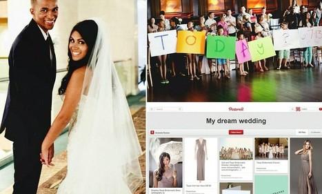 Boyfriend uses girlfriend's pinterest account to plan her dream weddin | Kickin' Kickers | Scoop.it