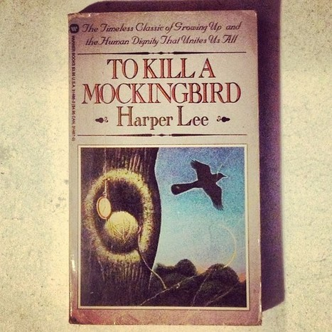 To Kill a Mockingbird by Harper Lee #coverart... | RCHK GB To Kill a Mockingbird | Scoop.it