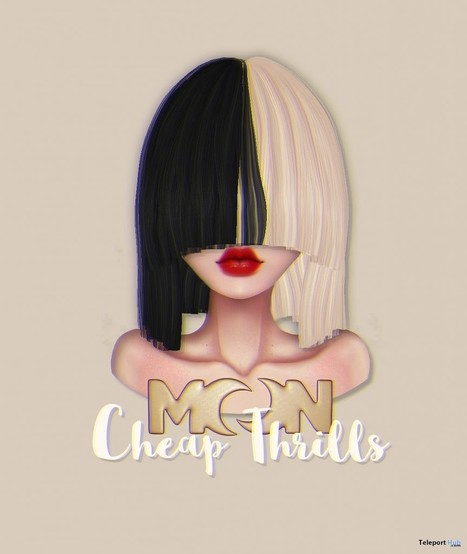 Cheap Thrills Hair Group Gift by MOON | Teleport Hub - Second Life Freebies | Second Life Freebies | Scoop.it
