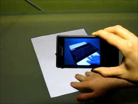 First Mango Augmented Reality app in action   Augmented Reality Innovation Articles   Scoop.it