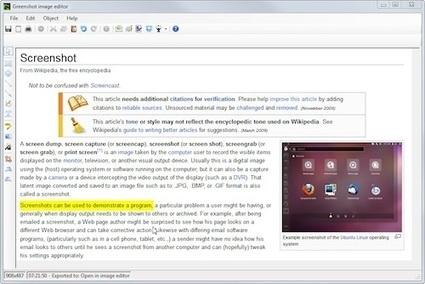 Greenshot - Un outil de capture d'écran gratuit pour une productivité optimale | Info tips | Scoop.it