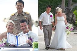 Legal marriage for Joanne and Darren | Wedding Planner in Koh Samui | Wedding in Thailand | Scoop.it