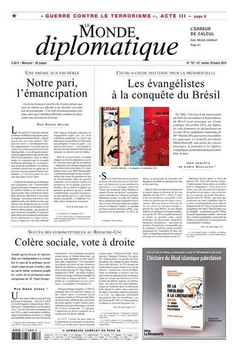 Une presse aux enchères. Notre pari, l'émancipation, par Serge Halimi | Emi Journalisme | Scoop.it