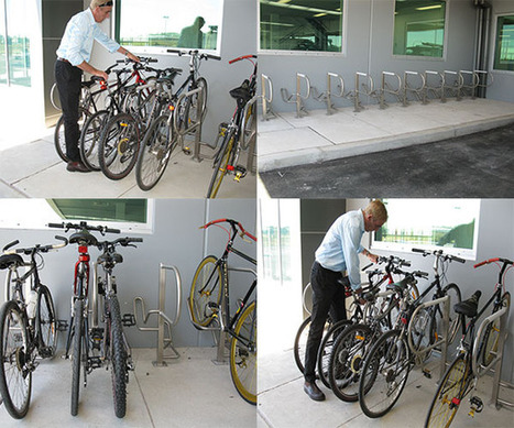 Arrow Alpha Raising the Bar in Bike Parking Design | Secure bicycle parking facilities | Scoop.it