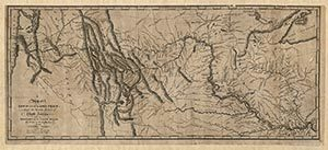 A Map of Lewis and Clark's Track, Across the Western Portion of North America - Blue Monocle | Westward Expansion | Scoop.it