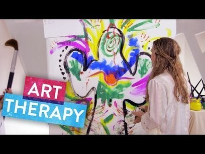 How Does Art Therapy Heal the Soul? | The Science of Happiness | Painting Central | Art Therapy in Action | Scoop.it
