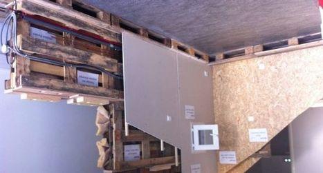La maison en bois à construire soi-même… | Immobilier | Scoop.it