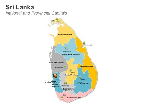 Sri Lanka Map with Provinces - Editable PowerPoint Slides | Simon Thomas Scoop | Scoop.it