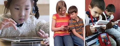 Diez consejos para despegar a tu hijo de una pantalla táctil | INFOGRAPHICS & KNOWLEDGE | Scoop.it
