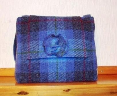 Artwork: Harris Tweed Bag - Open House Art   Art - Crafts - Design   Scoop.it