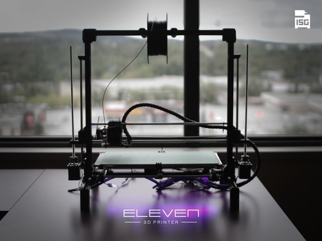 Eleven 3D Printer: Large, open source, affordable 3D printer | 3D Printing and Fabbing | Scoop.it