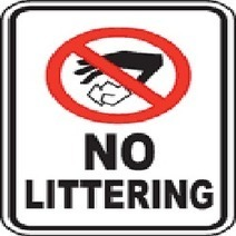 Put An End To Littering | Out Goes The Garbage | Scoop.it