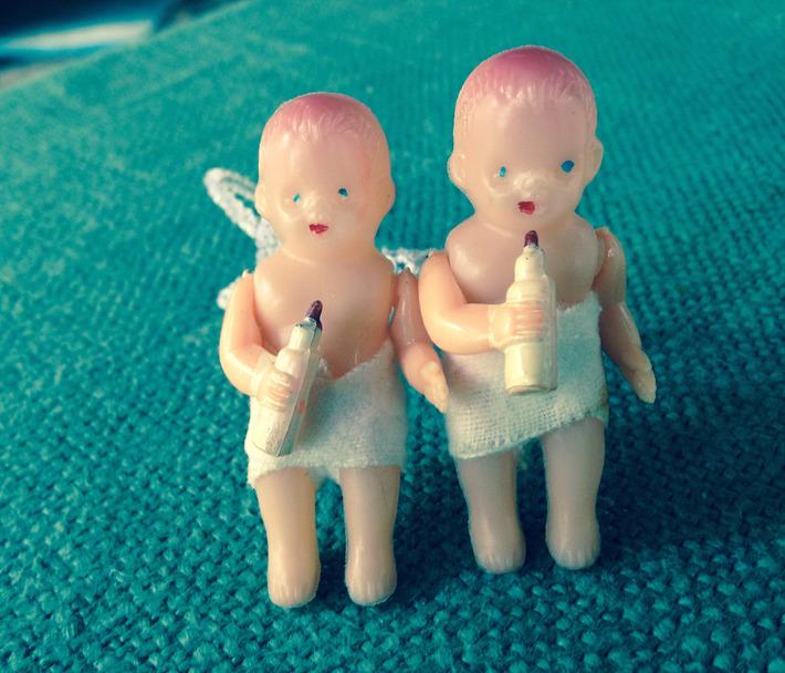 Tiny, Tiny Baby Dolls. | Kitsch | Scoop.it