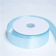 Satin Ribbon (25mm x 45metres) – Light Blue | Satin Ribbon | Scoop.it