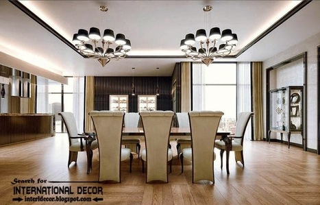 Stylish art deco interior design and furniture for Four decor international srl
