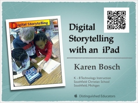 iPad Lessons | Digital Storytelling Tools, Apps and Ideas | Scoop.it