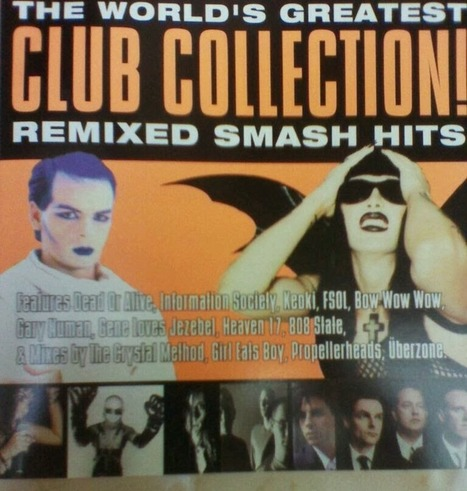 Derek Handova On the Records (Musically Speaking): Back to the Future: The World's Greatest Club Collection (Remixes from the 80s and 90s) | On the Records (Musically Speaking) | Scoop.it