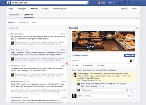 New Facebook Update. Marketing Tips for Facebook Pages | Content Marketing | Scoop.it