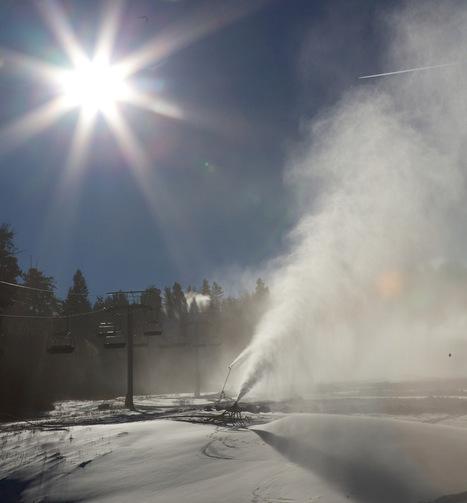 Utah ski resorts fight the warmer future with snowmaking - El Estándar | Les domaines skiables | Scoop.it