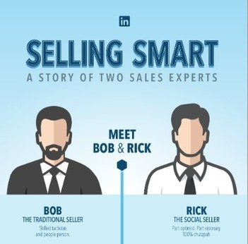 A story of two sales experts [infographic] | Social Selling | Scoop.it