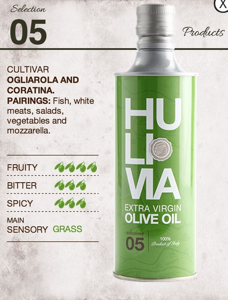 """Hulivia, Recanati: Extra Virgin Olive Oil for """"Sophisticated Palates""""   Le Marche and Food   Scoop.it"""