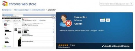 Trouver les personnes inactives sur Google+, Uncircle+ | Ballajack | Time to Learn | Scoop.it