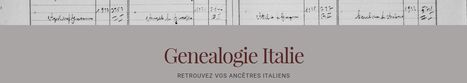 Genealogie Italie | Généal'italie | Scoop.it