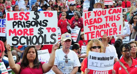 The fall of teachers unions - Politico | Teacher tenure | Scoop.it