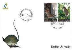 Rat And Mouse stamp issue by Faroes!! | SOFIMA Online | Scoop.it