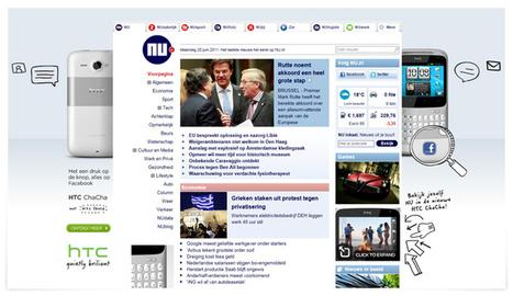 HTC ChaCha - Met één druk op de knop naar Facebook! - Moxie Amsterdam | Immersive experience technology | Scoop.it