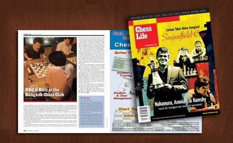 Bangkok Chess Club featured in Chess Life Magazine | Bangkok ... | Living in Bangkok & Thailand | Scoop.it