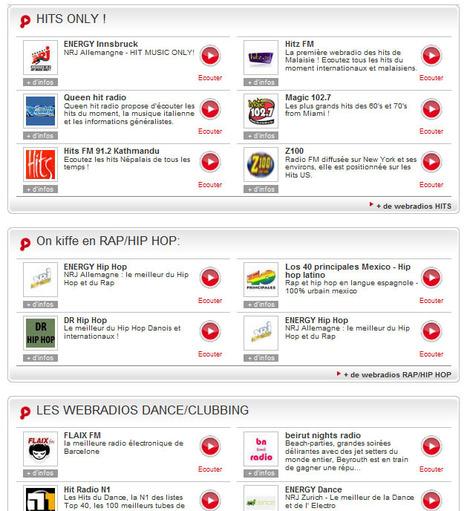 Webradios.fr: avec les web radios, retrouvez les meilleures radios sur Internet   Webradios et podcasts   Scoop.it
