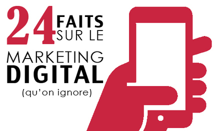 24 faits sur le marketing digital qu'on ignore | Performance Ecommerce & SEO  | E-marketing | Scoop.it