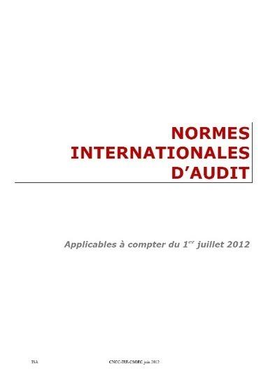 Les Normes Internationales d'Audit (ISA) | Claude RAMEIX | Scoop.it