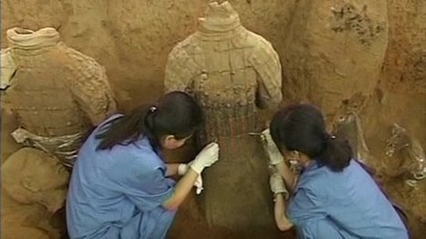 New Terracotta Warriors found in China (VIDEO) | Year Seven Ancient History: China & Egypt | Scoop.it