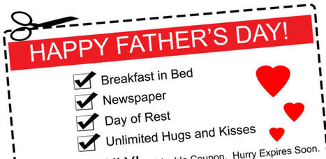 Father's Day Gifts Kids Can Make: The Coupon Book | Educational Resources for Kids | Scoop.it