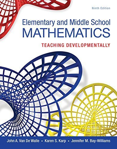 Elementary and Middle School Mathematics: Teaching Developmentally (9th Edition) (Teaching Student-Centered Mathematics Series) | Ebook Shop | Scoop.it