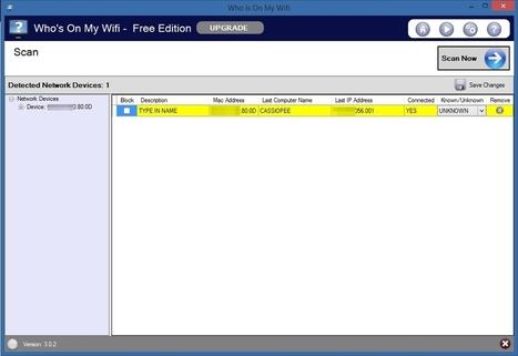 Who Is On My Wifi : protégez efficacement votre réseau WIFI des intrus | Allmyapps Le Mag | Scoop.it